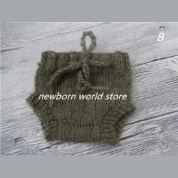 Dziecko szorty, newborn fotografia rekwizyty szorty, moherowe spodenki.
