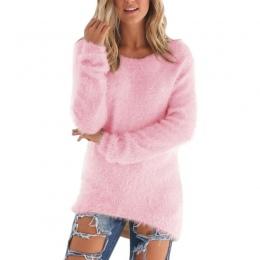 Swetry 2017 Jesień Zima kobiet O-Neck Sweter Kobiet Hedging Luźne Swetry Casual Solidna Swetry Hurtownie Drop Ship