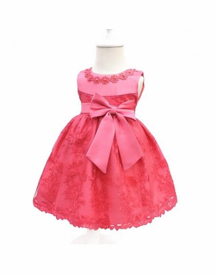 b0e9259616 Dziewczynek Sukienka Dla Dziewczyn Princess Dress Niemowlę Party Dress  Dziecko Chrzciny Suknie Pierwszy 1 Rok Urodziny