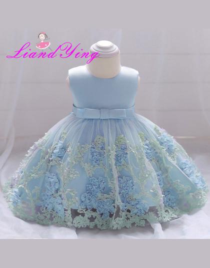 d3b92a31 Nowy Urodziny Dziecko Sukienka Dziewczynka Chrzciny Suknie Baby Girl  Chrzest Sukienki Pierwszy Rok Tutu Sukienka Dziewczyny