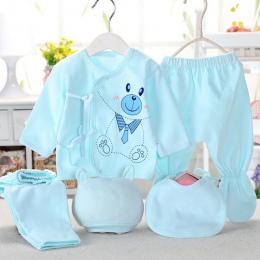 Bekamille noworodków zestawy (5 sztuk/zestaw) niemowląt bielizna ustawić unisex odzież garnitur więcej 20 style
