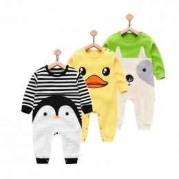Orangemom 2018 newborn baby girl boy zużycie czystej bawełny odzież dla niemowląt, moda baby boy ubrania dla dzieci pajacyki 100