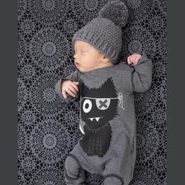 Moda baby boy ubrania z długim rękawem baby pajacyki newborn bawełna baby girl odzież kombinezon odzież dla niemowląt