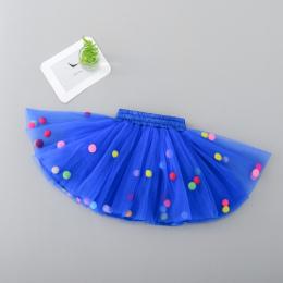 Niemowlę Spódnica Tutu Dziewczynek Mini Sukienka z Kulkami Dziewczyny Spódnica Tutu Księżniczka Party Balet Taniec Spódnica Nowo