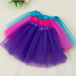 Darmowa Wysyłka 2-7 Lat Piękne Puszyste Spódnica Szyfonowa Dziewczynek Tutu Spódnice Dzieci Księżniczka Dance Party Tulle Skirt