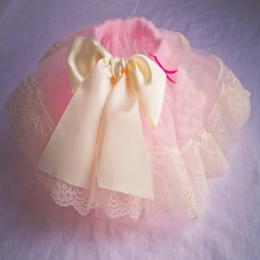 1 T Dziewczynka Wstążka Krótki Tutu Spódnica Szyfonowa Casual Ruffle Mini Pettiskirt Tutu Różowy Warstw Suknia Dla Dzieci kids P