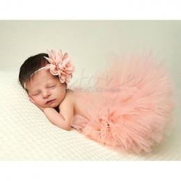 Śliczne Maluch Newborn Baby Girl Tutu Spódnica i Opaska Photo Prop Kostium Strój # HC6U # Drop shipping