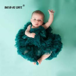 NOWY 19 Kolory Noworodka Dziewczyna Tutu Spódnica Tutu Spódnica Oszałamiająca szczęście dziecko Zdjęcie Prop 3-24 miesięcy Dziec