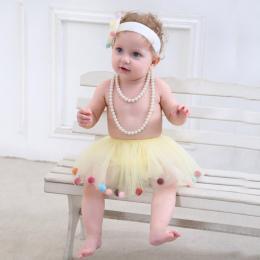 Moda Dla Dzieci Dziewczyny Spódnice Tiulowe Nowonarodzone Dzieci Księżniczka Spódnica Tutu dziecka Kolorowe Suknia Balowa Pettis