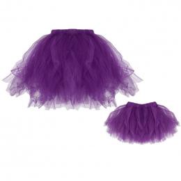 Dzieci Dziecko Dziewczyny Kobiet Dorosłych Tutu Spódnice Mini Balet Księżniczka Fancy Party Hurtownie Rodzina Dopasowanie Spódni