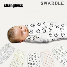 Czystej Bawełny Noworodka Przewijać Koperty Dla Noworodków Śpiwór Dla Dziecka Dziecko Snu Worki Oddychające Niemowląt Wrap dla N