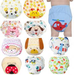 1 Sztuk Cute Baby Pieluchy Pieluszki Wielorazowe Cloth Diaper Nappy Zmiana Zmywalny Niemowląt Dzieci Dziecko Bawełna Szkolenia S