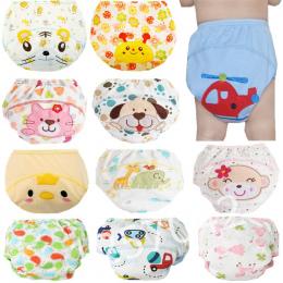 1 sztuk Cute Baby Pieluchy Pieluszki Wielokrotnego Użytku Tkaniny Pieluchy Zmywalny Niemowlęta Dzieci Dziecko Bawełna Szkolenia