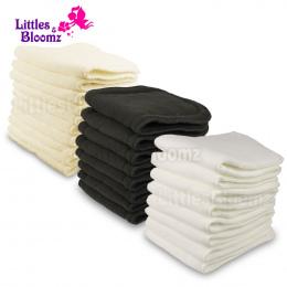 Wielokrotnego użytku Zmywalny Wzmacniacze Wkładki Wkładki Do Prawdziwe Kieszonkowe Cloth Nappy Pieluchy Pokrywa Wrap mikrofibry