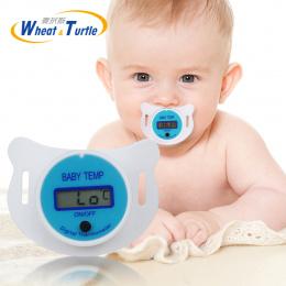Dziecko Brodawki Termometr Medyczny Silikon Smoczek LCD Cyfrowy dzieci Termometr Zdrowie Bezpieczeństwa Opieki Termometr Dla Dzi