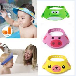 Maluch Dzieci Mycia Włosów Tarcza Bezpośrednie Daszek Czapki Szampon Kąpiel Prysznic Cap Dla Dzieci Baby Care Słodkie Piękne Dzi
