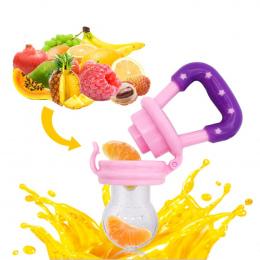 1 pc Baby Girl Gryzak Nipple Jedzenie Owoców Mordedor Zgryz Silikonowe Gryzaki Bezpieczeństwa Podajnik Zgryz Żywności Sutek Gryz