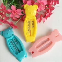 Cartoon Pływający Piękny Niedźwiedź Dziecko Termometr Wody, Termometr Do Kąpieli dla dzieci Zabawki, plastikowa Wanna Czujnik Te