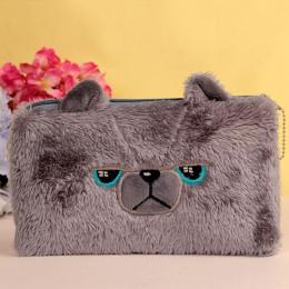 Niedźwiedź piórniki dla dziewczyn Kawaii Plush panda pen torba biurowe etui prezent dla dzieci szkoły biurowymi Estuche