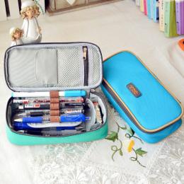 Korea torba Wielofunkcyjna Szkoła Piórnik i Torby Duża Pojemność Płótno Długopis Kurtyny Okno dla Chłopiec Dziewczyna Dzieci Pre
