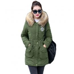 Nowy Długie Parki Kobiet Kobiet Kurtka Zimowa Płaszcz Gruba Ciepła Kurtka Znosić Damska Parki Plus Rozmiar Fur Coat 2018