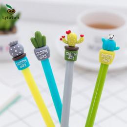 1 sztuk Lytwtw Koreański Piśmienne Słodkie Kaktus Długopis Reklamowy Długopis Żelowy Szkoła Mody Biurowe Kawaii Dostaw
