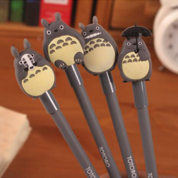Nowy 0.38mm długopisy Żelowe Kawaii Cartoon Totoro Śliczne Kreatywny Papeterii Dla Dzieci Dzieci Uczniowie Szkoły Dostaw Mareria