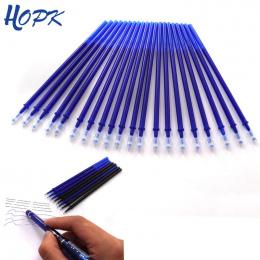 20 sztuk/zestaw Biuro Żel Długopis Wymazywalnej Napełniania Rod Magia Wymazywalnej Długopis Refill 0.5mm Niebieski Black Ink Szk