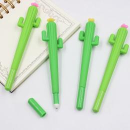 1 SZTUK Śliczne Kreatywny Długopisy Żelowe Kaktus Stationery Office Szkolne Prezent Długopis Żelowy 0.38mm Black Ink