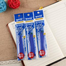 20 sztuk/zestaw Wymazywalnej Długopis Wkłady Niebieski I Czarny Tusz Magiczny Pisania Żel Długopis Wkłady