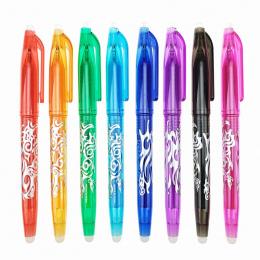 1 Pc Nowy 0.5mm Wymazywalnej Długopis 1 sztuk Wkłady Kolorowe 8 Kolor Kreatywny Rysunek Narzędzia Narzędzia Student Pisanie Biur