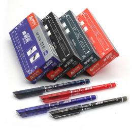 12 sztuk/paczka Wymazywalnej Długopis Ink 0.5mm Długopis Żelowy 4 Kolor Dostępna na Prezent dla dzieci Darmowa Wysyłka