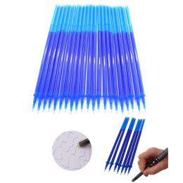 Kasowalna Pen refill 20 sztuk/zestaw Biuro Podpis Długopis Żelowy Magia Wymazywalnej Długopis 0.38mm Niebieski/Czarny Tusz Pisan