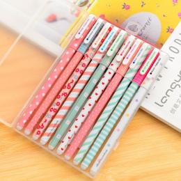 5 Sztuk/partia Nowy Cute Cartoon Kolor Gel Pen Kawaii kolorowe pen Refill Koreański Piśmienne Kreatywny Prezent Szkolne