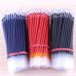 20 Sztuk Niebieski Czerwony Czarny Tusz Żelowy Długopis Wkłady Ink 0.5mm zestaw Koreański Piśmienne Kreatywny Prezent Szkolne Pi