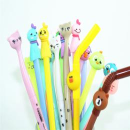 Szkoła papiernicze opcja wielu rodzajów Cute cartoon różne style żel pióro i długopis osobowości nagrody pisania piórem