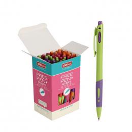 10 Sztuk/partia Śliczne 0.7mm Akcesoria Biurowe Materiał Escolar Długopis Niebieski Tusz Dostaw Pisania Znak Długopis Biurowe