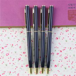 1 Sztuk/partia New Arrival Pręt Metalowy Obrotowy Długopis Komercyjnych Długopis Prezent Biurowe Darmowa Wysyłka