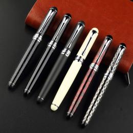 Noble JINHAO X750 wieczne pióro wszystkie całkowita 15 kolory z prezent pen pokrowiec Grube metalowe ink pen darmowa wysyłka