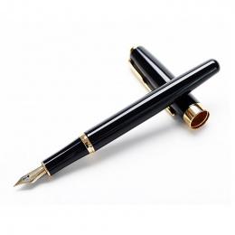Fontanna pióra atramentu Iraurita Złoty Klip długopisy caneta tinteiro Baoer 388 materiał escolar Stationery Office szkolne A629