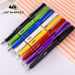 U Pick Jinhao 599 Medium stalówka Pióro wieczne Uczeń mody Cukierków Kolor 0.5mm do Pisania Biuro Szkoła uczeń Piśmienne