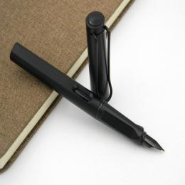 NOWE PLASTIKOWE popularne HOT URZĄD Moda Matte black EF Wieczne Pióro