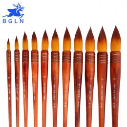 1 Szt Nylon Włosów Akwarela Pędzel Starożytny Styl Akrylowe Malowanie Pędzlem Dostaw Sztuki 40RT Wierszyk