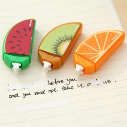 1 sztuk Nowy Śliczne Kawaii Plastikowe Owoce Taśmy Korekcyjnej Dla Dzieci Dzieci Studenci Szkolne Koreański Piśmienne