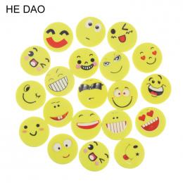 20 Sztuk/partia Mini Kreskówka Kawaii Twarz Uśmiech Gumka Gumowe Dla Dzieci Prezent Szkolne Koreański Papelaria Darmowa Wysyłka