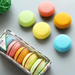 Śliczne Kawaii Kolorowe Ciasto Guma Gumka Pień Macaron Gumki Dla Dzieci Prezent Szkolne Biurowe Studenckie 2716