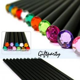 (12 sztuk/zestaw) ołówek Hb Diament Kolor Ołówek Papiernicze Przedmioty Rysunek Ogrodnicze Śliczne Ołówki Do Szkoły Lipa Biuro S
