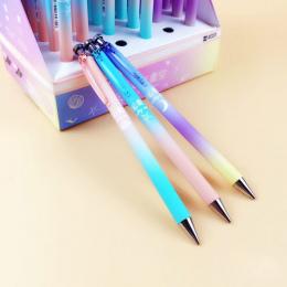 Śliczne Kawaii Moon Star Kreatywny Niebo Automatyczne Długopisy Plastikowe Ołówek Dla Dzieci Pisanie Szkolne Koreański Piśmienne