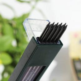 10 sztuk/pudło 2mm 2B HB Czarny 2.0mm Mechaniczne Ołówka Refill 120mm darmowa wysyłka