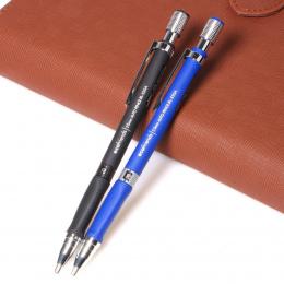 Nowy 1 sztuk 2.0mm Czarny Przewód Mechaniczne Redakcyjnych Rysunek Ołówkiem Niebieski/Czarny Do Szkoły I Biura Biurowe bezpłatny
